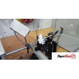 Turbocharger shaft assembly balancing