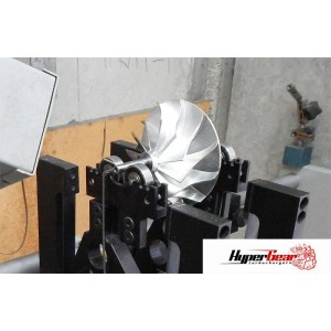 Compressor wheel and Turbine shaft balancing