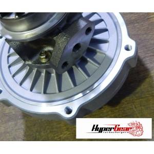 Compressor housing profile, machining and insert.